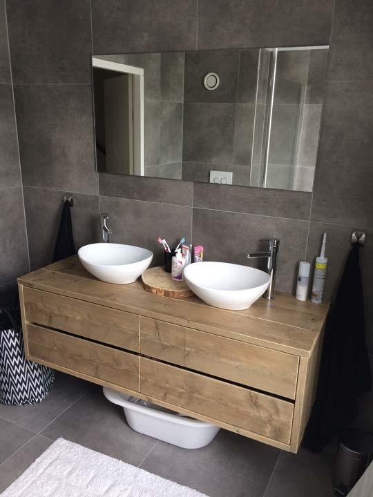 badkamermeubel-steigerhout