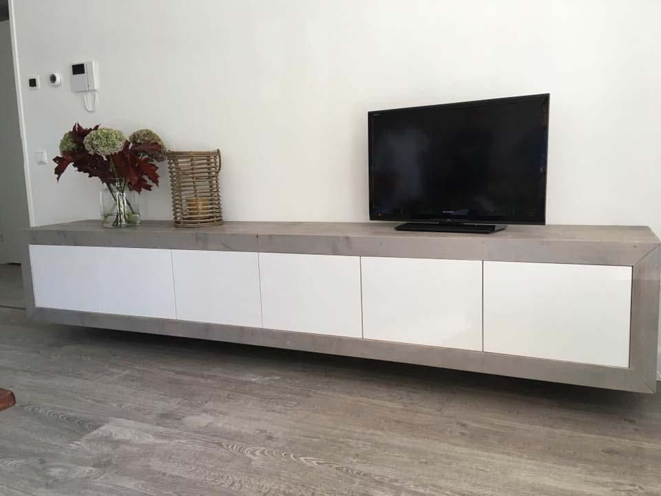 tv-meubel-steigerhout-wit